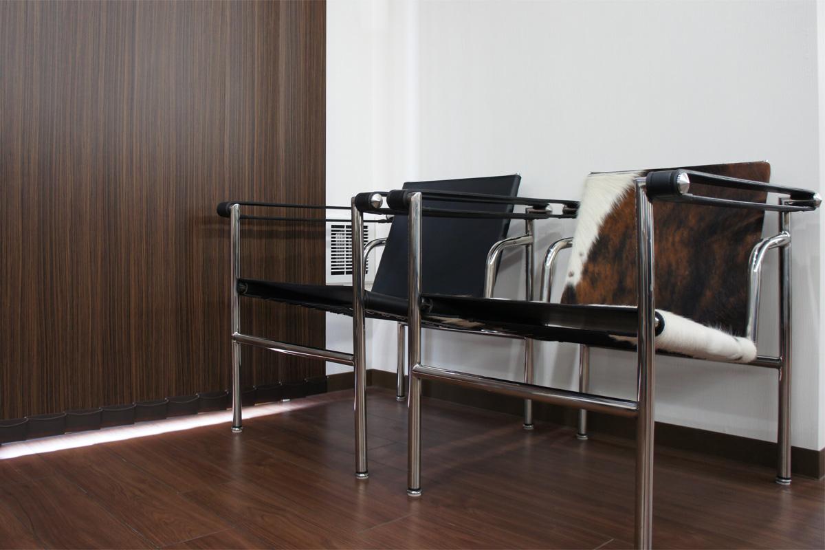 E-comfort LC1 スリングチェア | 設置例