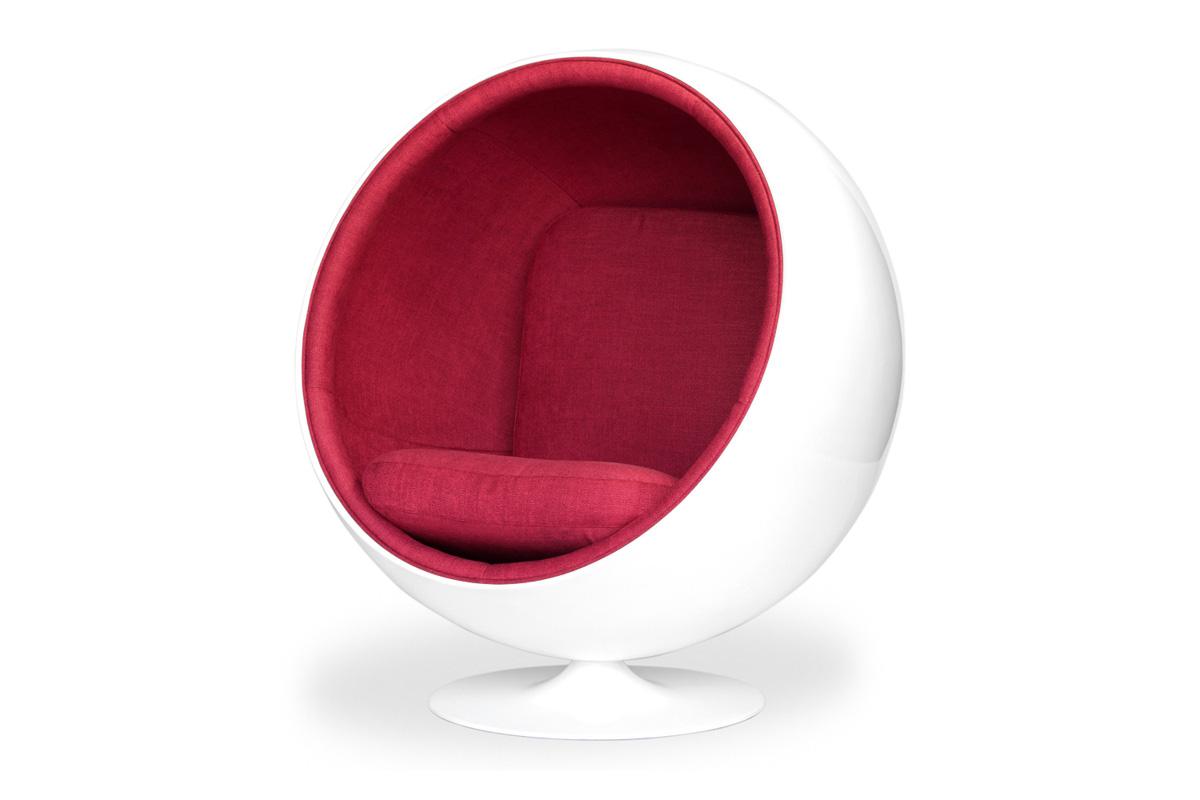 E-comfort ボールチェア 3Lダークレッド |