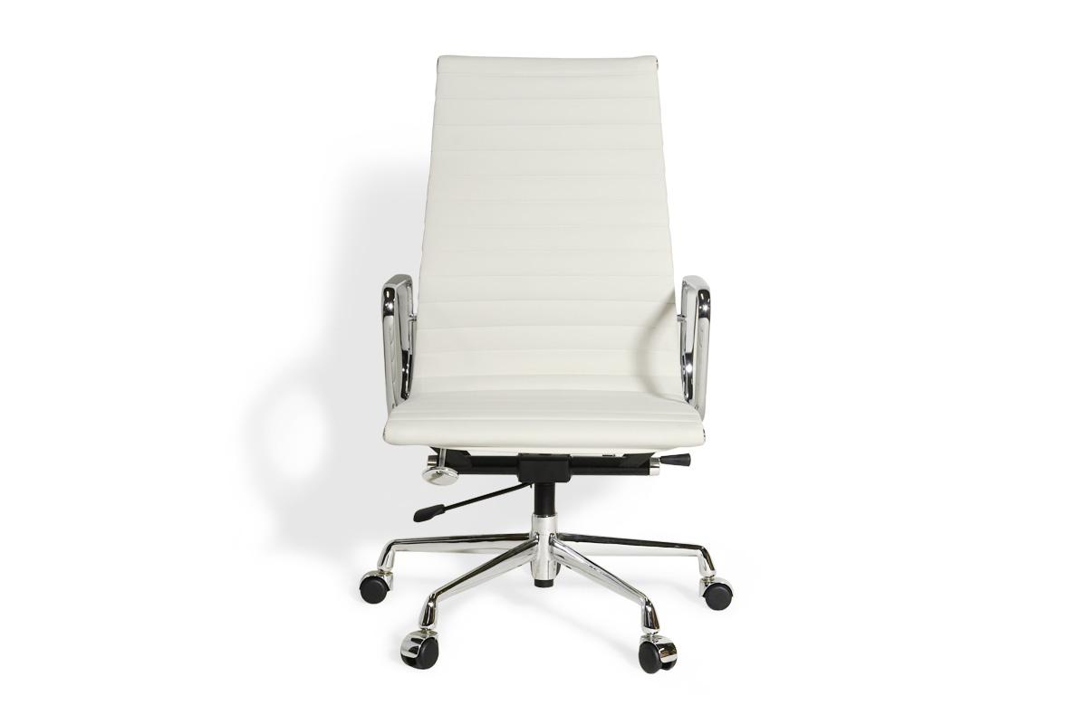 E-comfort アルミナムチェア エグゼクティブチェア フラットパッド PUレザー |