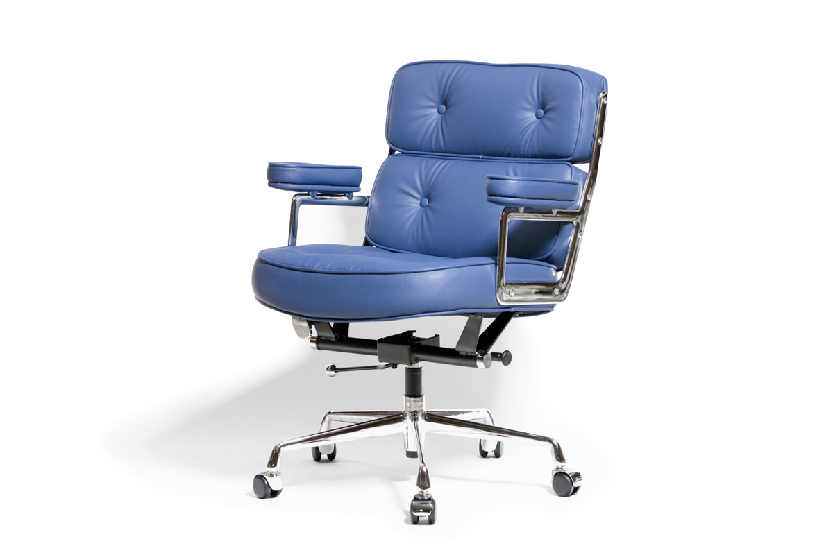 E-comfort エグゼクティブチェア タイムライフチェア  PUレザー | ダークブラウン 後ろ