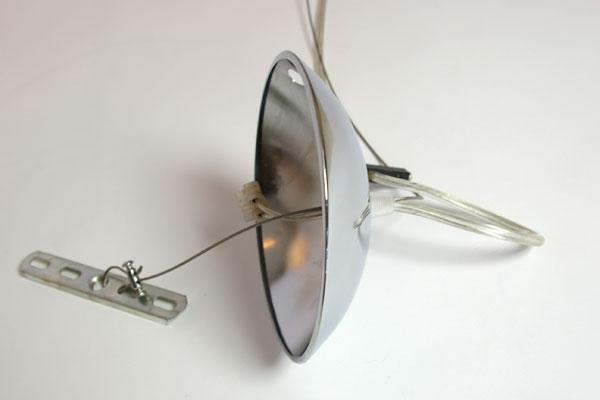 E-comfort ファンシェル ペンダントランプ | 取付け部アップ