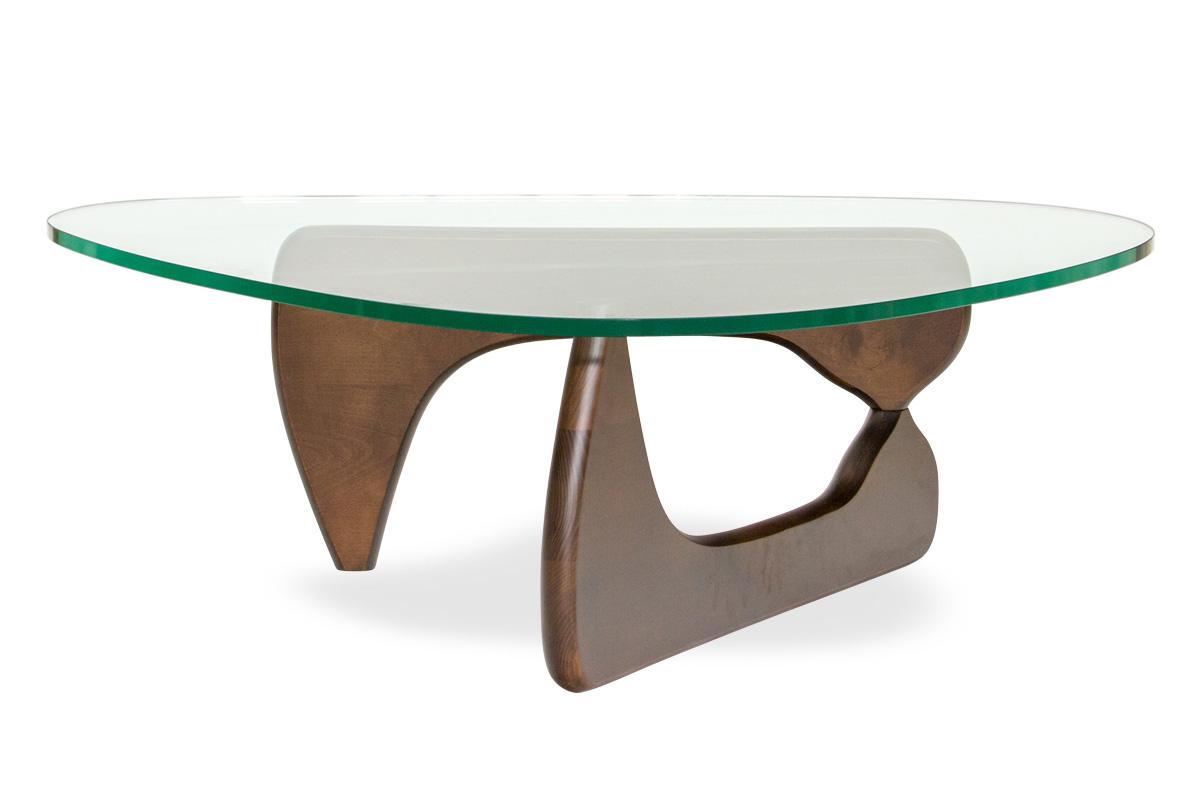 E-comfort ノグチテーブル ビーチ ブラウン塗装 | 正面