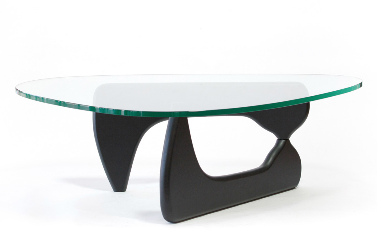 E-comfort ノグチテーブル<br>アッシュ ブラック塗装
