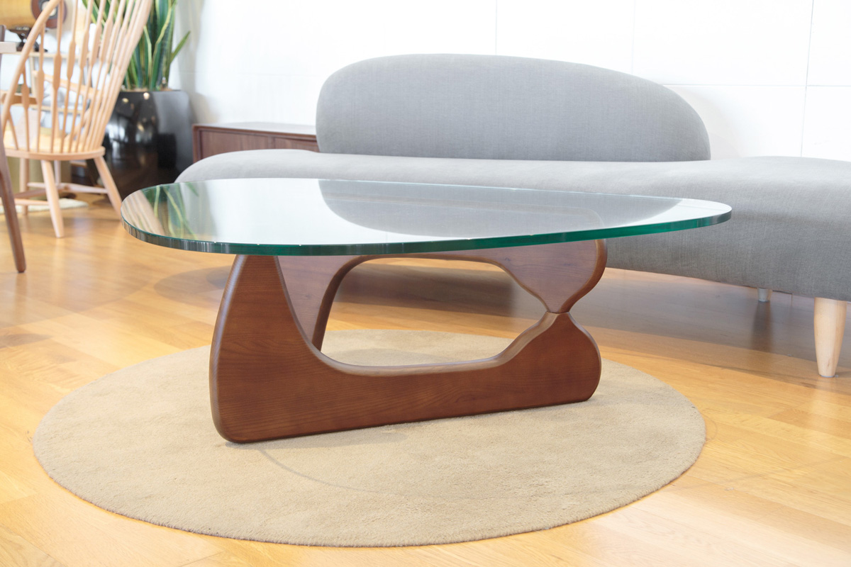 E-comfort ノグチテーブル アッシュ ブラウン塗装 |