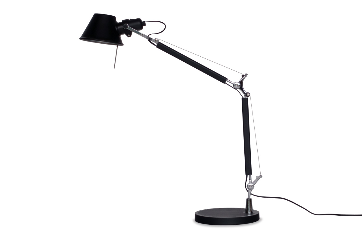 E-comfort トロメオ テーブルランプ<br>ブラック