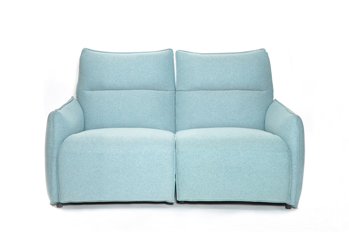 E-comfort 電動リクライニングソファ 2p<br>ブルーグリーン