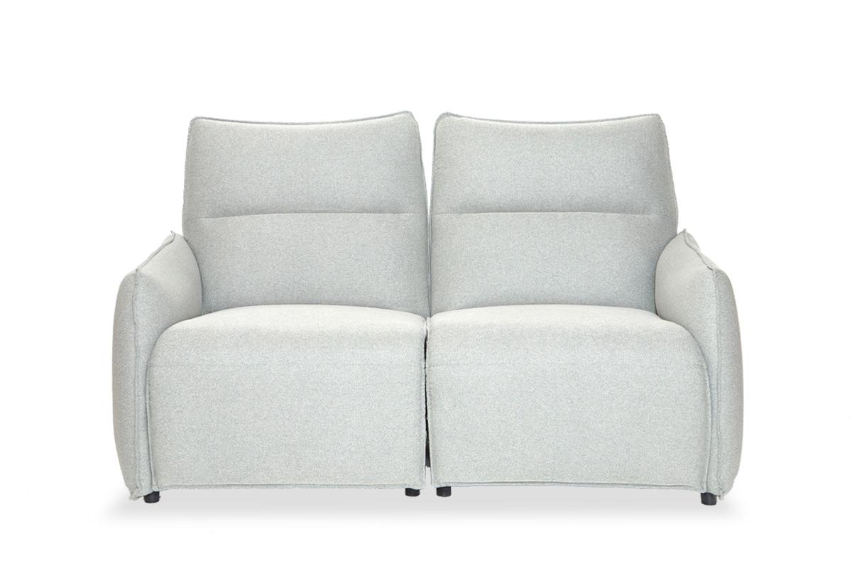 E-comfort 電動リクライニングソファ 2人掛け<br>グレー