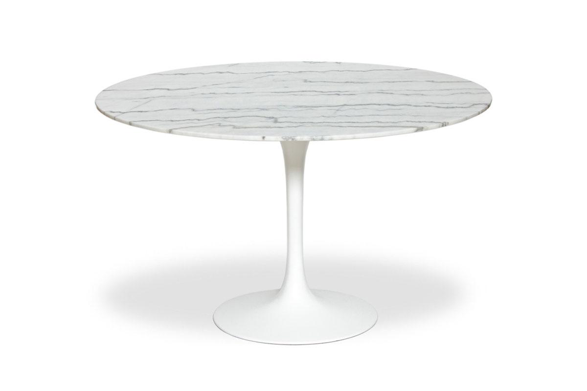 E-comfort チューリップダイニングテーブル マーブル 120