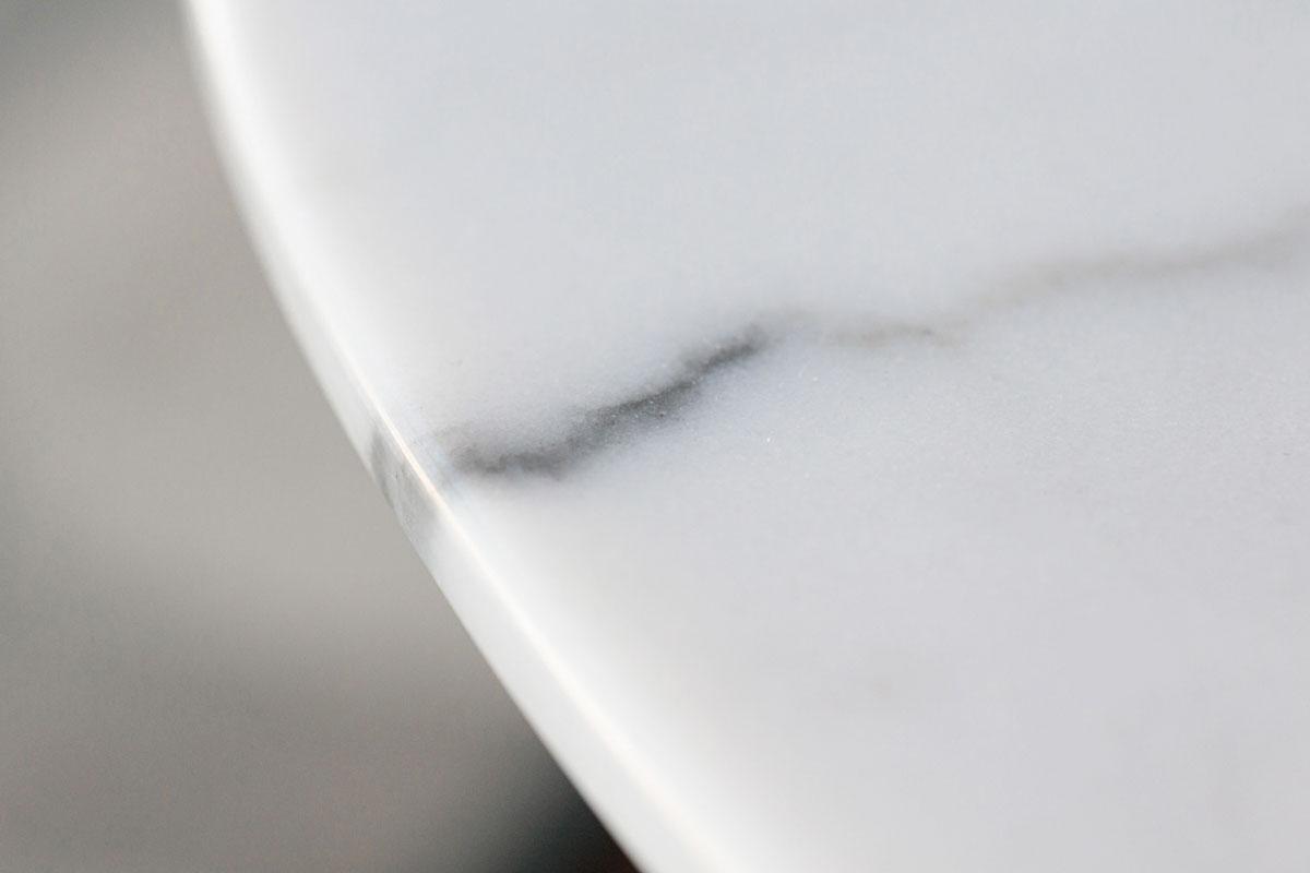 E-comfort チューリップダイニングテーブル マーブル 120 | 天板アップ