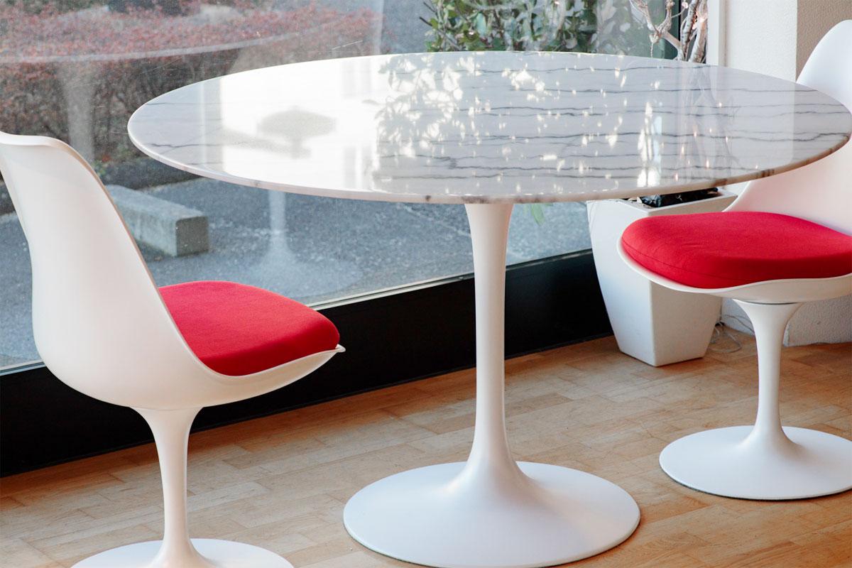 E-comfort チューリップダイニングテーブル マーブル 120 | 設置例