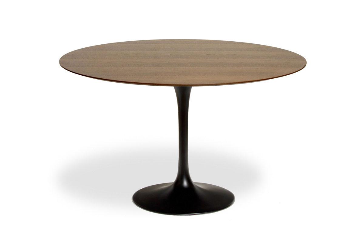 E-comfort チューリップダイニングテーブル ウッド 122<br>ウォールナット
