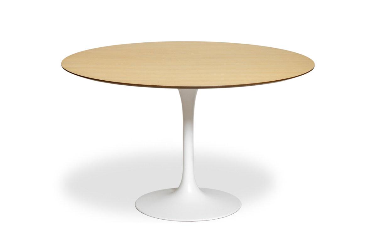 E-comfort チューリップダイニングテーブル ウッド 120<br>オーク