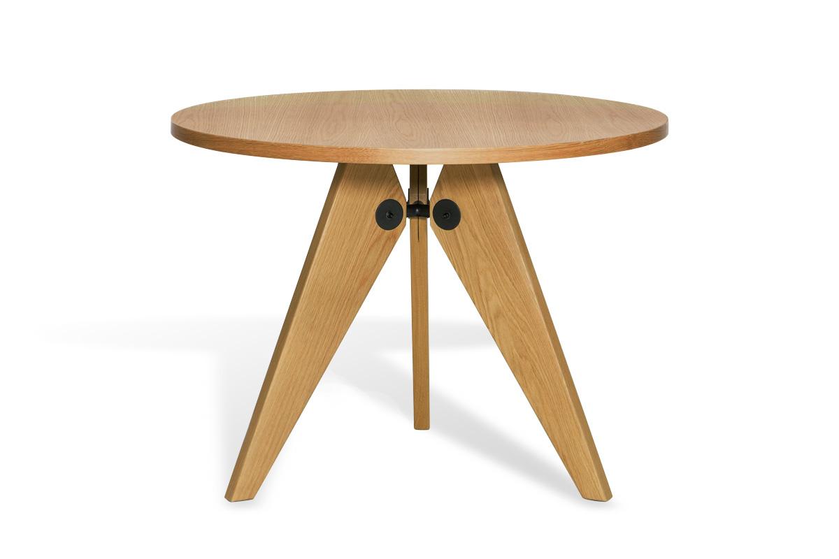 E-comfort ゲリドン テーブル Φ95 オーク | 正面