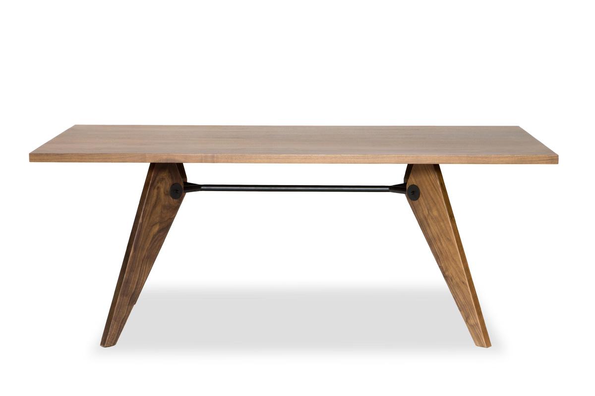 E-comfort ソルベイ テーブル 180cm<br>ウォールナット