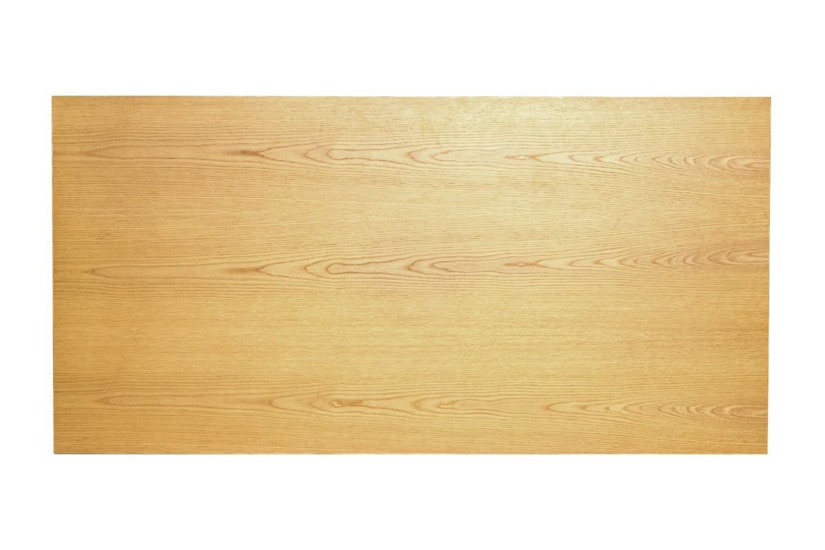 E-comfort ソルベイ テーブル 180cm オークxビーチ ブラック塗装 | 上