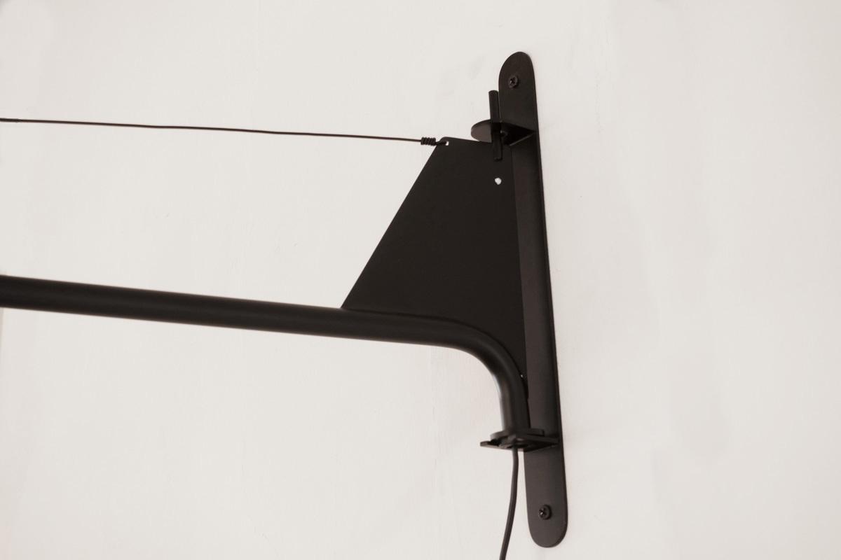 E-comfort プチポテンス ウォールランプ ブラック |