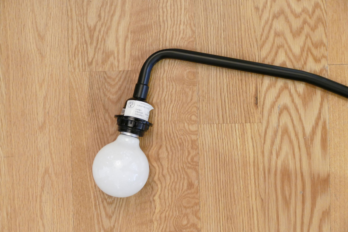 E-comfort ポテンス ウォールランプ ブラック |