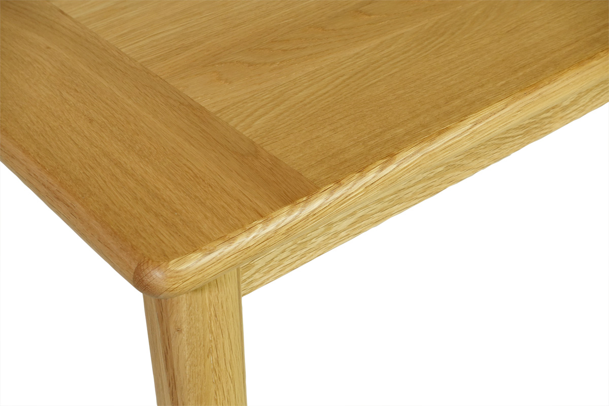 E-comfort ノルドテーブル 丸脚ダイニングテーブル 160V オーク  
