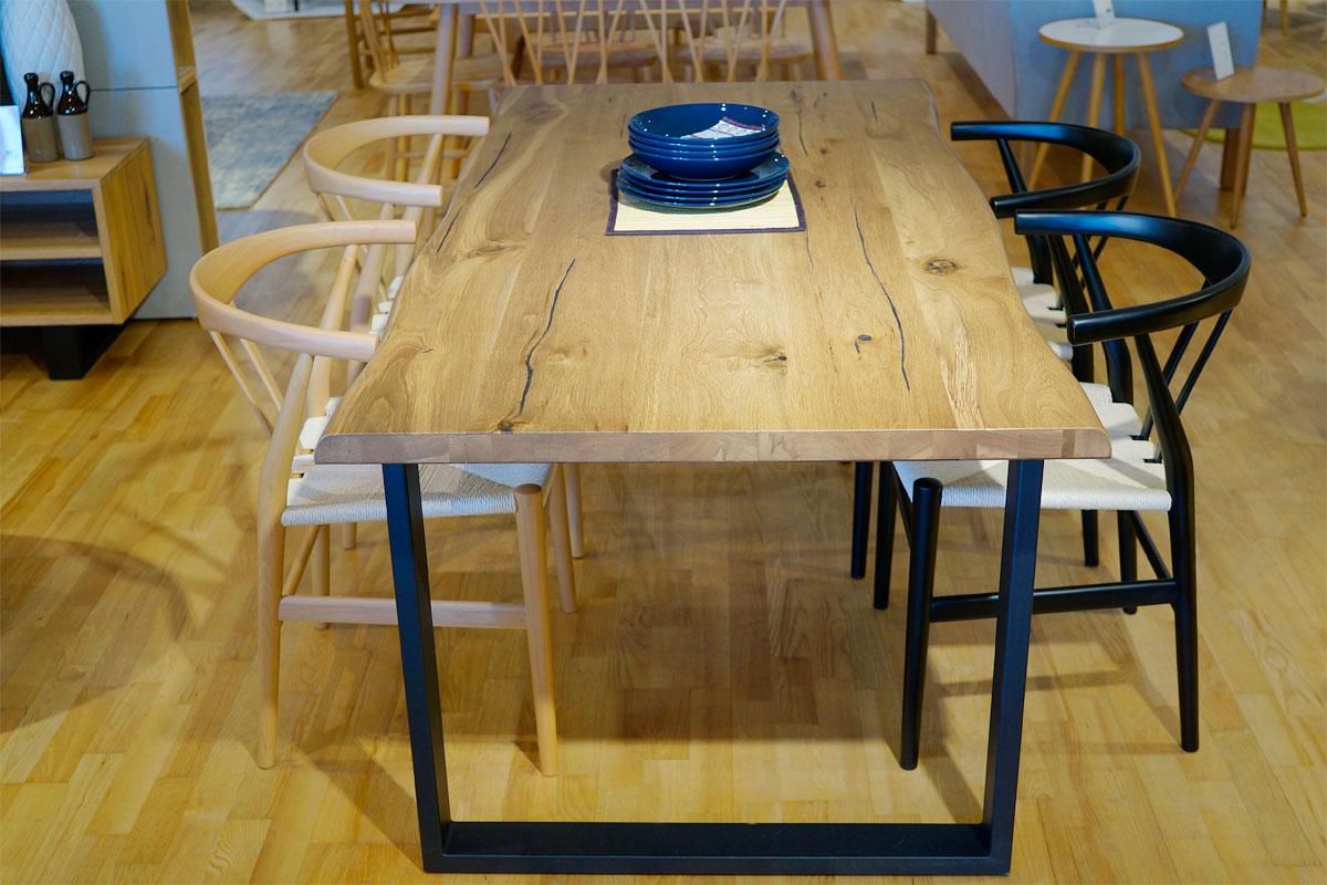 E-comfort ロッテルダム テーブル 160cm オーク | コーディネイト例 ※写真は180cmタイプです