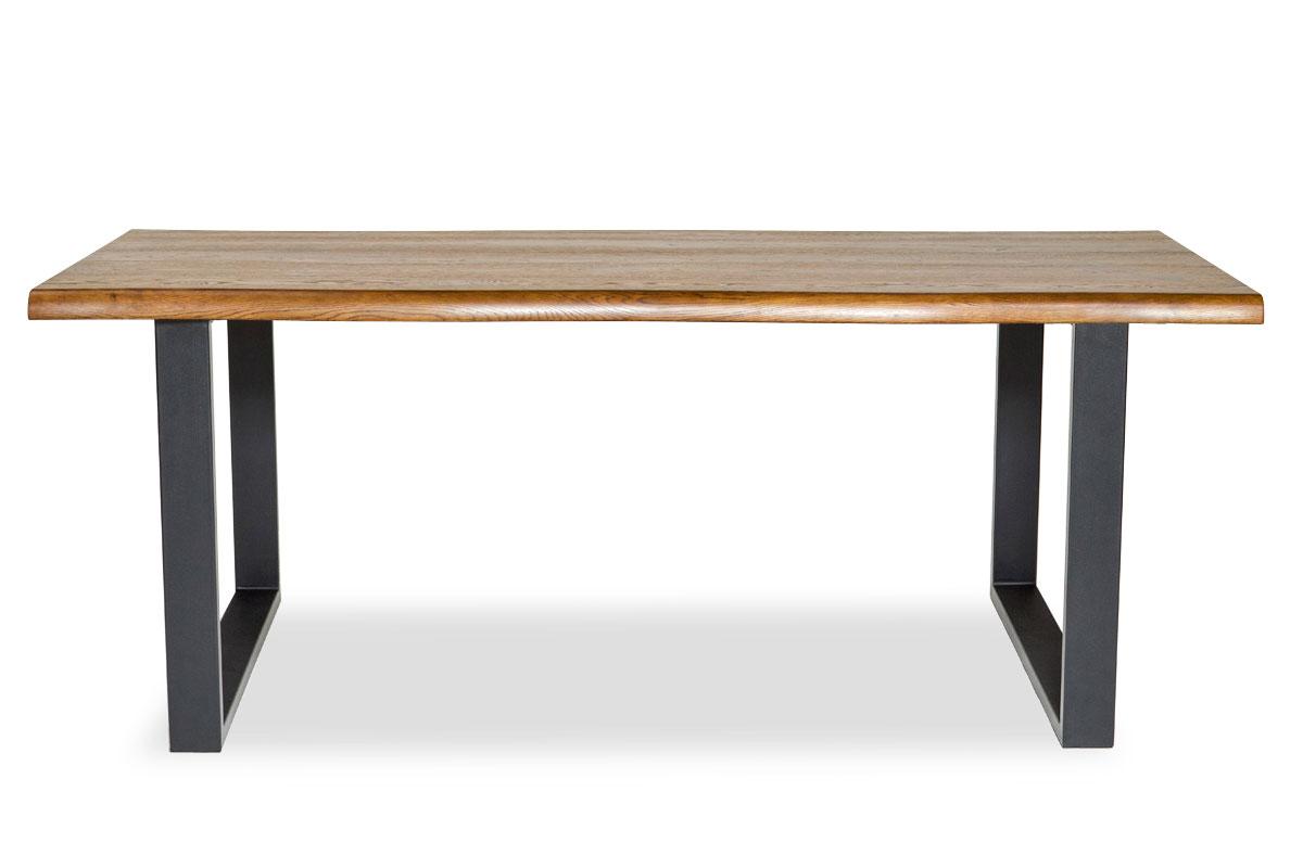 E-comfort ロッテルダム テーブル 180cm<br>オーク ブラウン塗装
