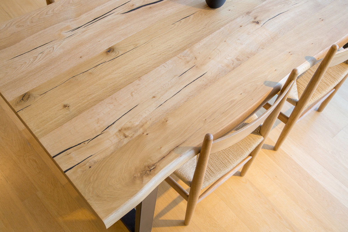 E-comfort ロッテルダム テーブル 180cm オーク | 天板