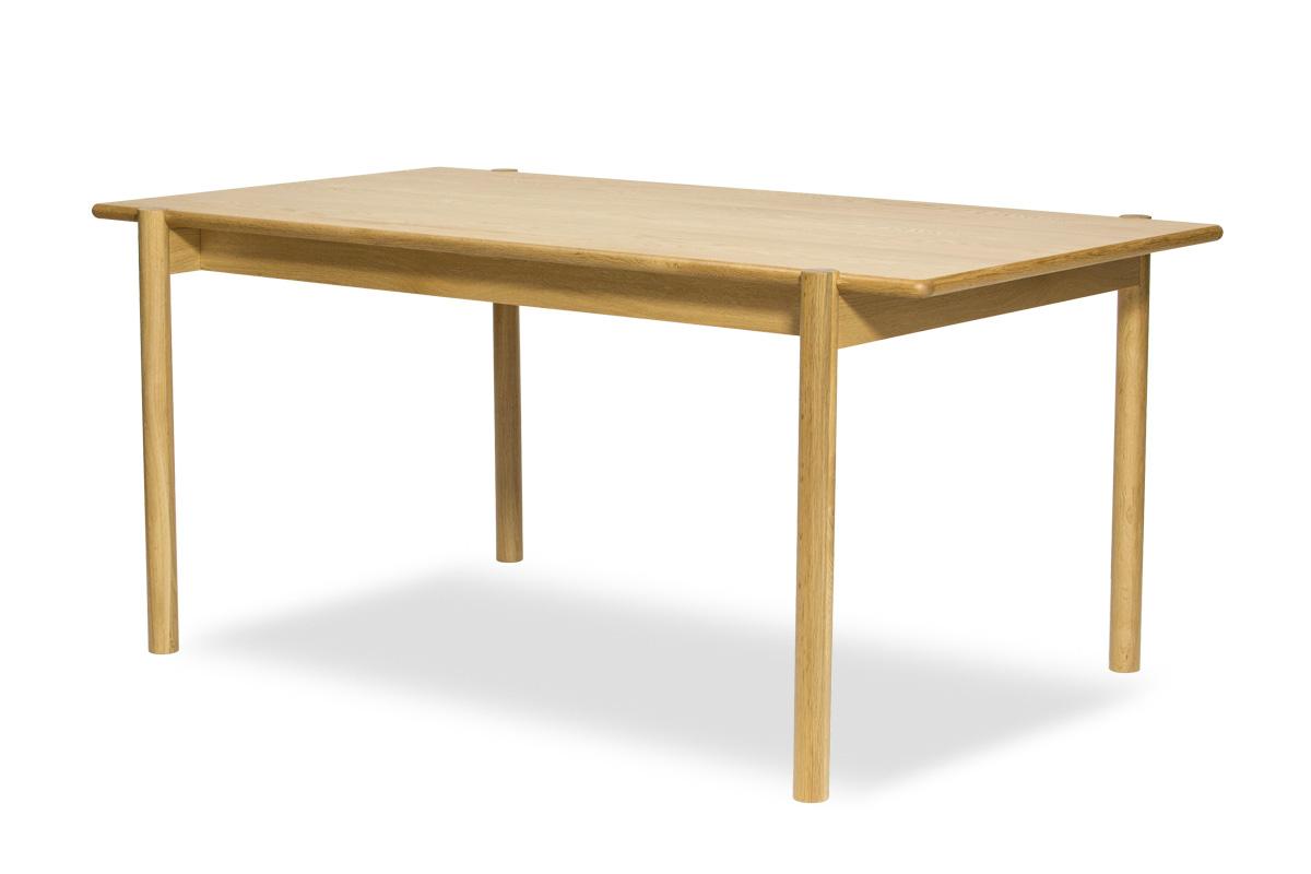 E-comfort ダイニングテーブル[5点セット] アンドラ丸脚ダイニングテーブルw160+PP68ダイニングチェア |