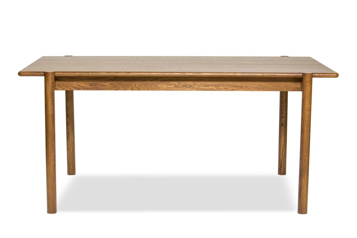 E-comfort ダイニングテーブル[5点セット] アンドラ丸脚ダイニングテーブルw160ブラウン+Aチェア |