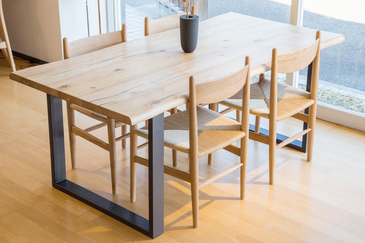 E-comfort ダイニングテーブル[5点セット] ロッテルダムテーブルw180+CH36チェア |