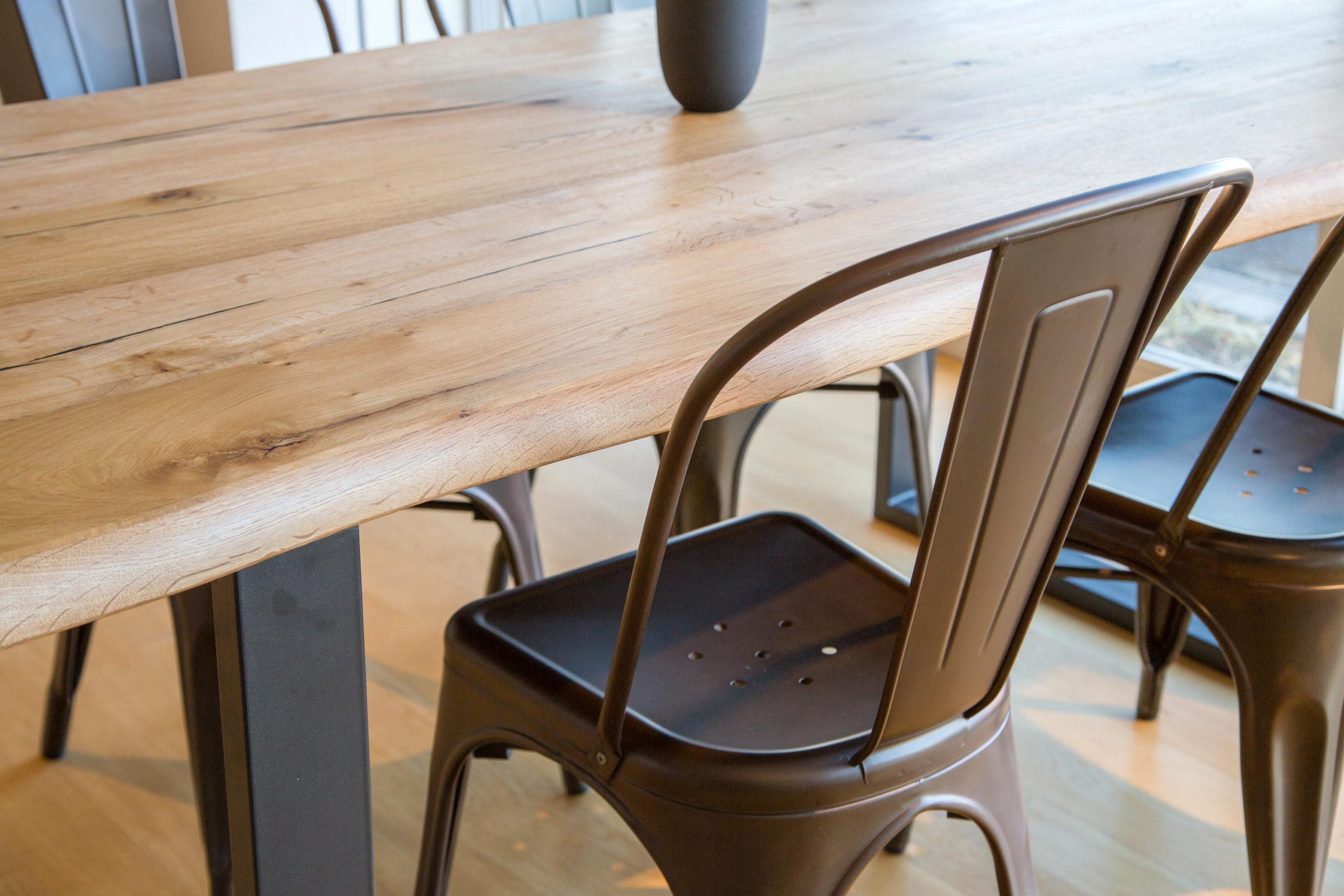 E-comfort ダイニングテーブル[5点セット] ロッテルダムテーブルw180+Aチェア |