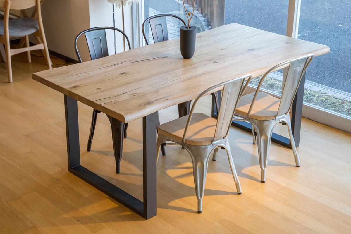 E-comfort ダイニングテーブル[5点セット] ロッテルダムテーブルw180+Aチェア ウッドシート |