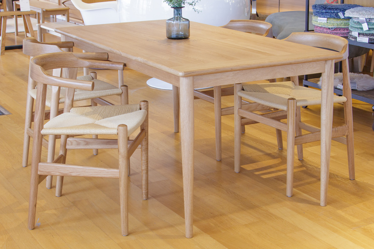 E-comfort ダイニングテーブル[5点セット] ノルドテーブルw160v+PP68チェア |