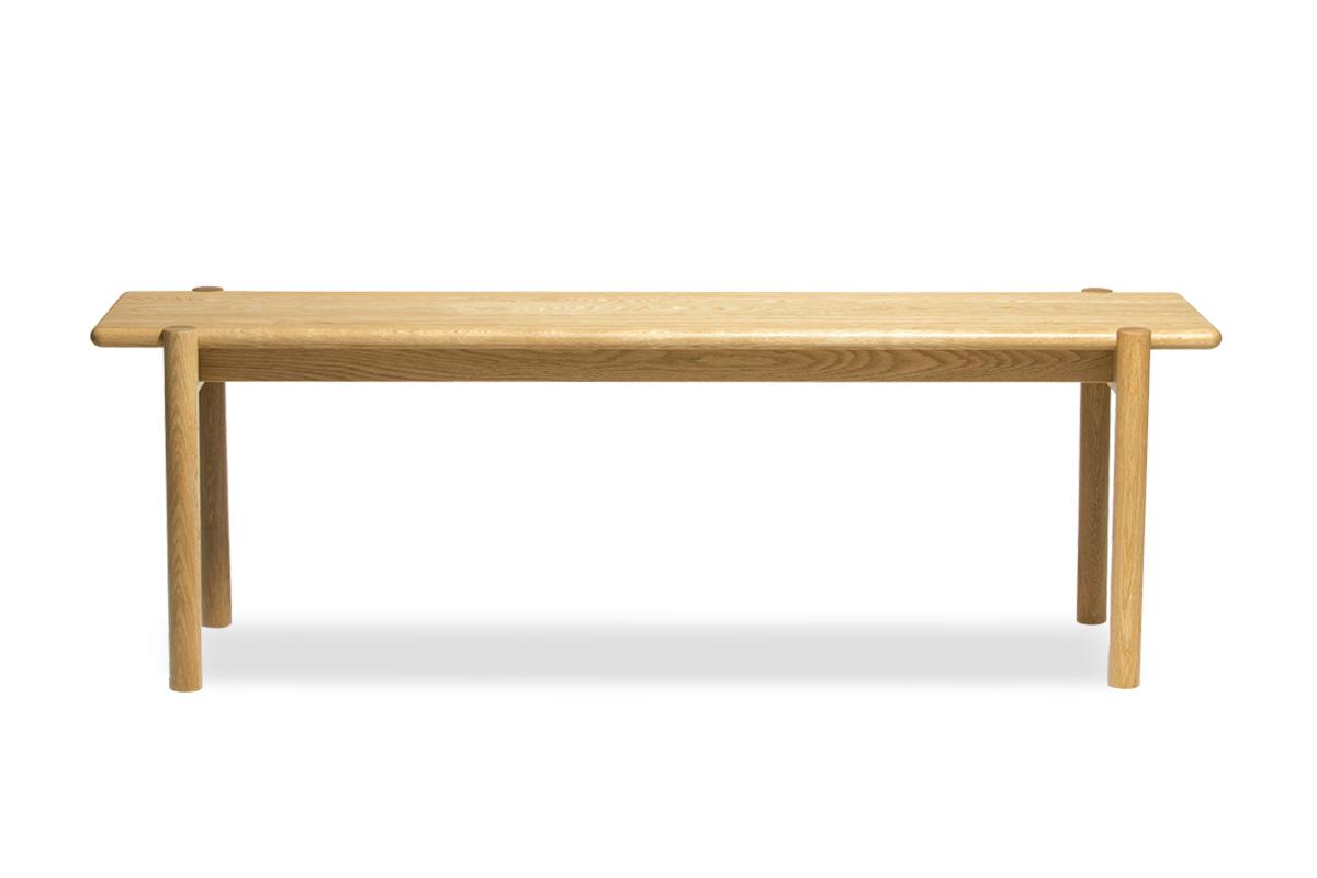 E-comfort ダイニングテーブル[4点セット] ノルドテーブルw160v+PP68チェア+アンドラ丸脚ベンチ |