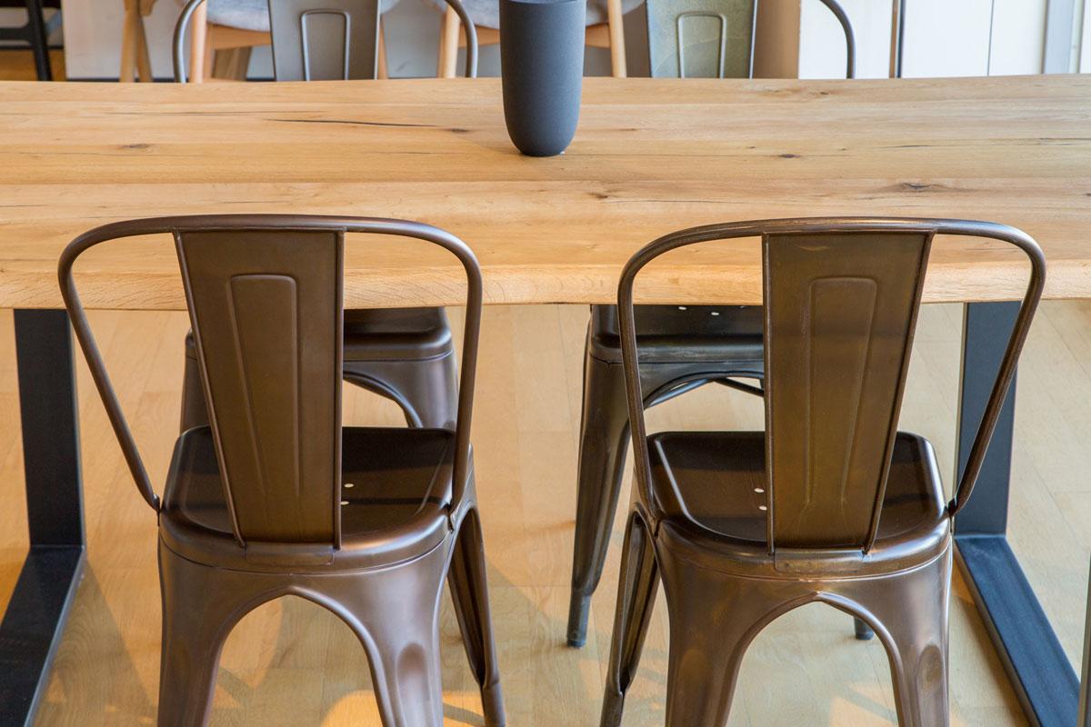 E-comfort ダイニングテーブル[5点セット] ロッテルダムテーブルw160+Aチェア |
