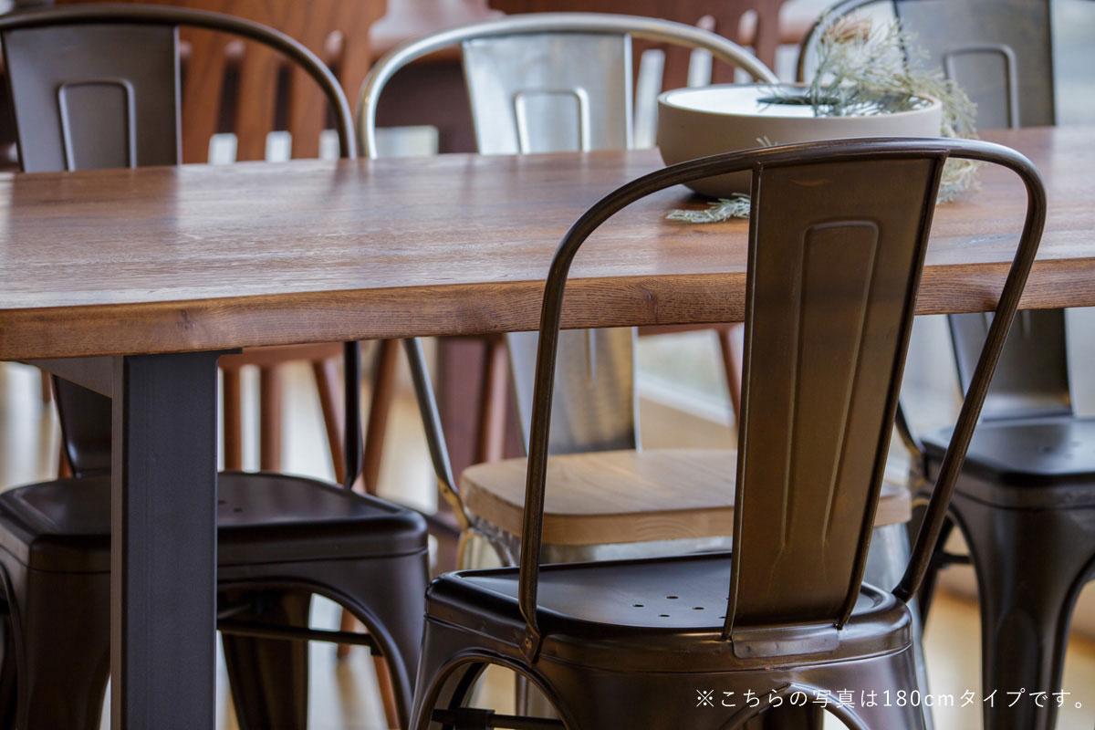 E-comfort ダイニングテーブル[5点セット] ロッテルダムテーブルw160ブラウン+Aチェア |