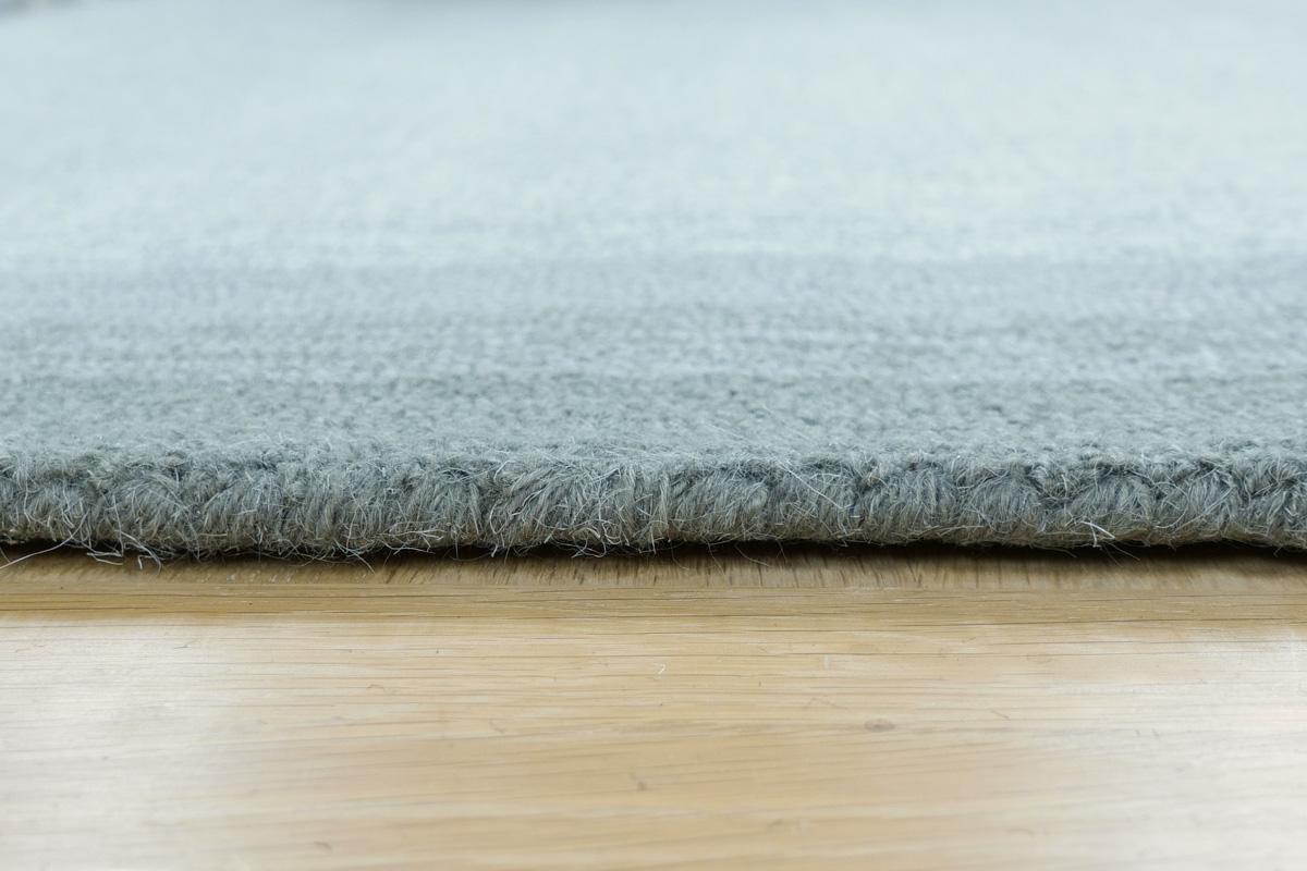 E-comfort ハンドウィーブ ウール ループティップ BLENDA 200x140cm  グレー  