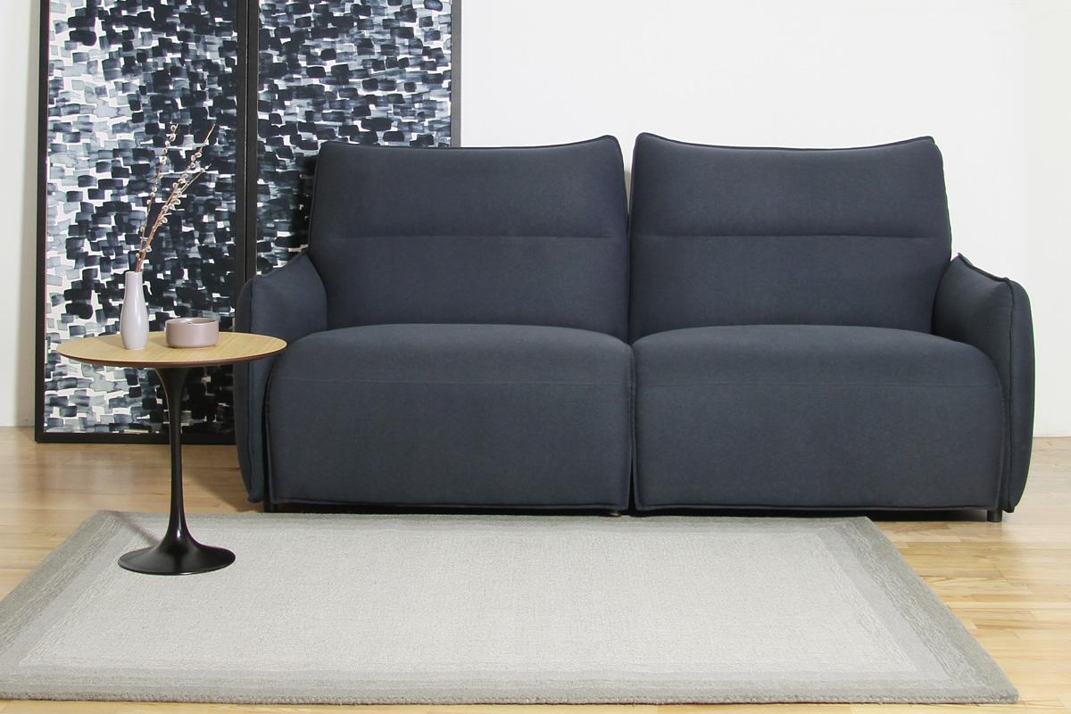 E-comfort ハンドウィーブ ウール ループティップ BLENDA 230x160cm  グレー