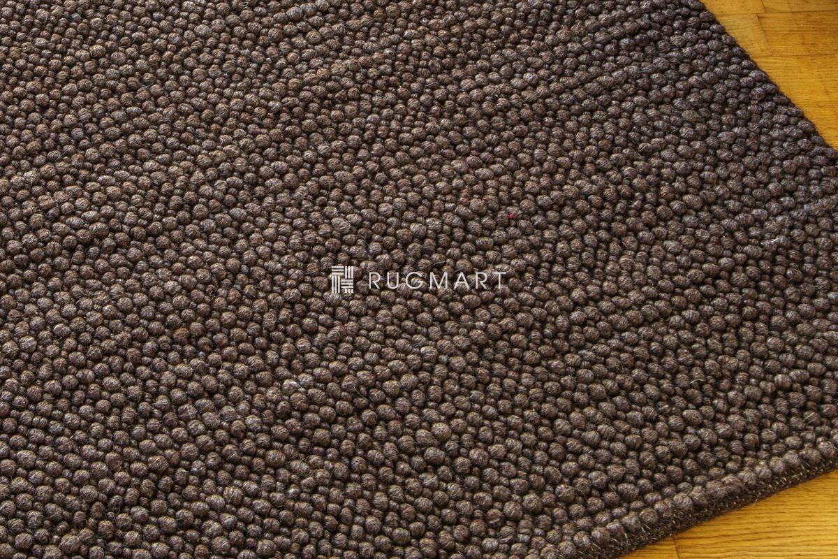 E-comfort ウール ループ シャギー チェリー 160x230cm コーヒー |