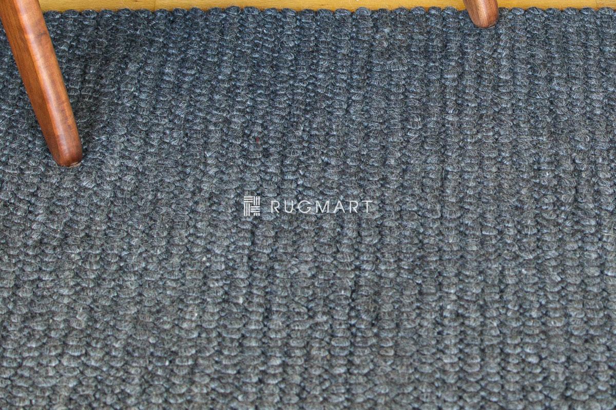 E-comfort ウール ループ シャギー CHERRY 160x230cm ダークグレー |