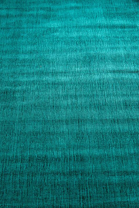E-comfort 手織りラグ ダイナスティー アンティーク 230x160cm ターコイズ |