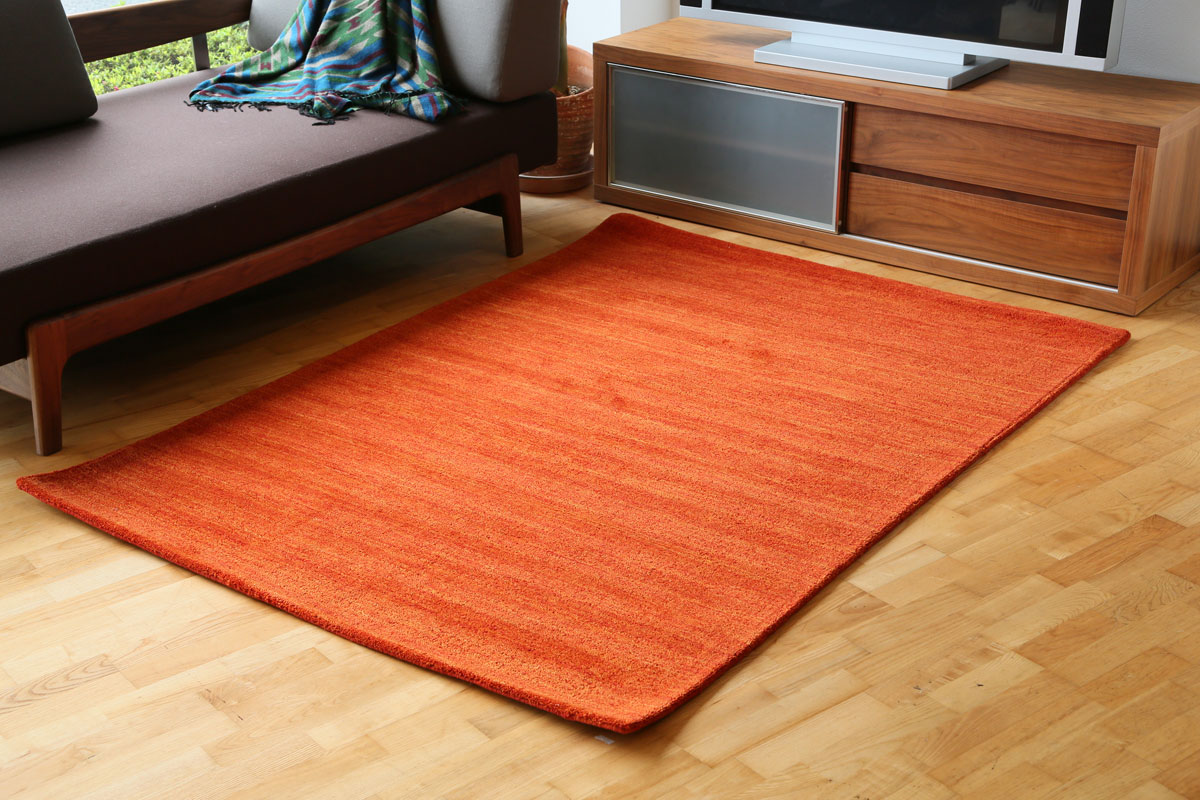 E-comfort プレーン 200x140cm オレンジ