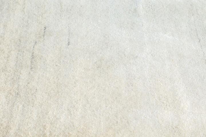 E-comfort 手織りウールラグ ルリバフ プレーン 200x140cm アイボリー  