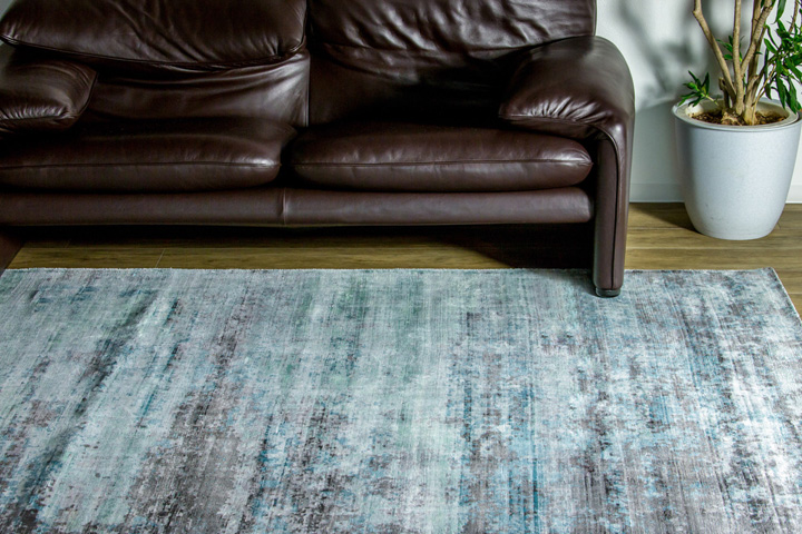 E-comfort ヴェローナ9018 230x160cm ターコイズグリーン