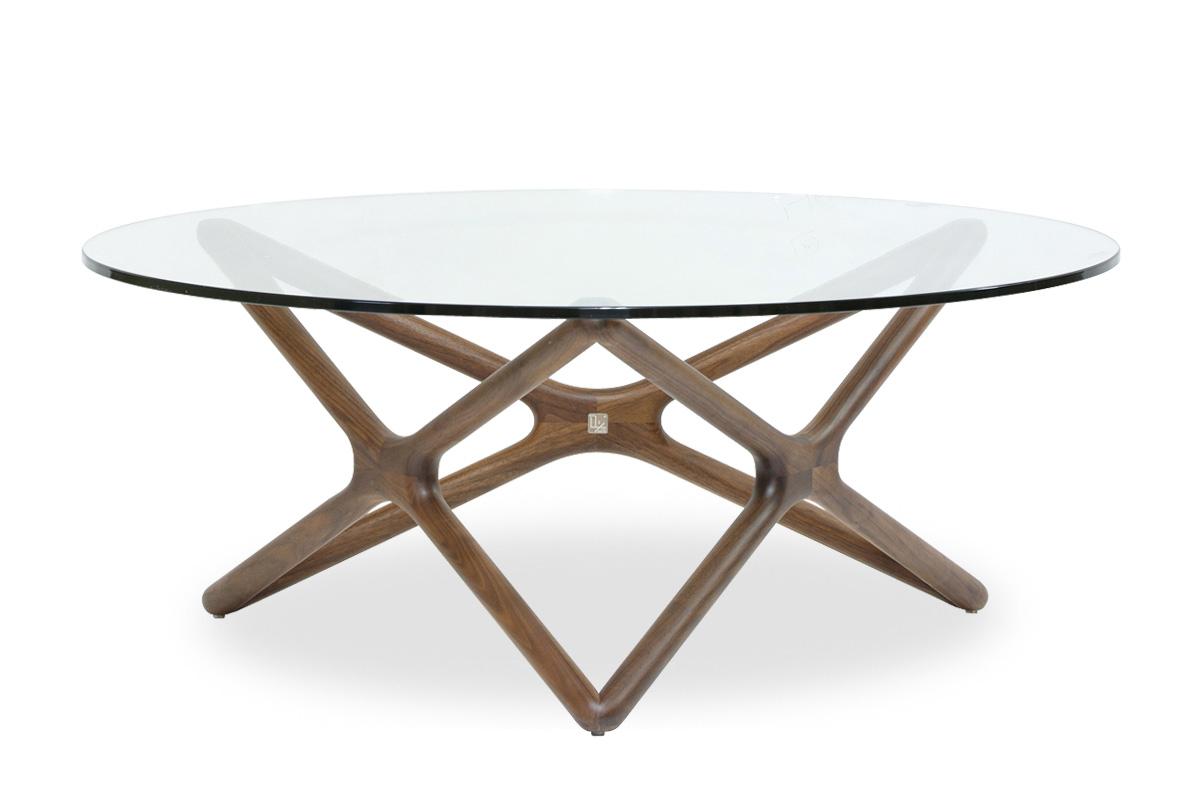 E-comfort トリプルX ローテーブル<br>ウォールナット