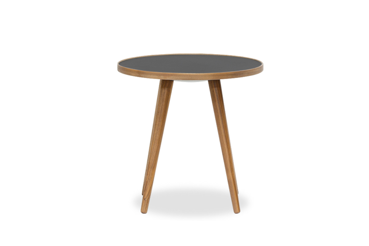 E-comfort SPUTNIK サイドテーブル A<br>ウォールナット