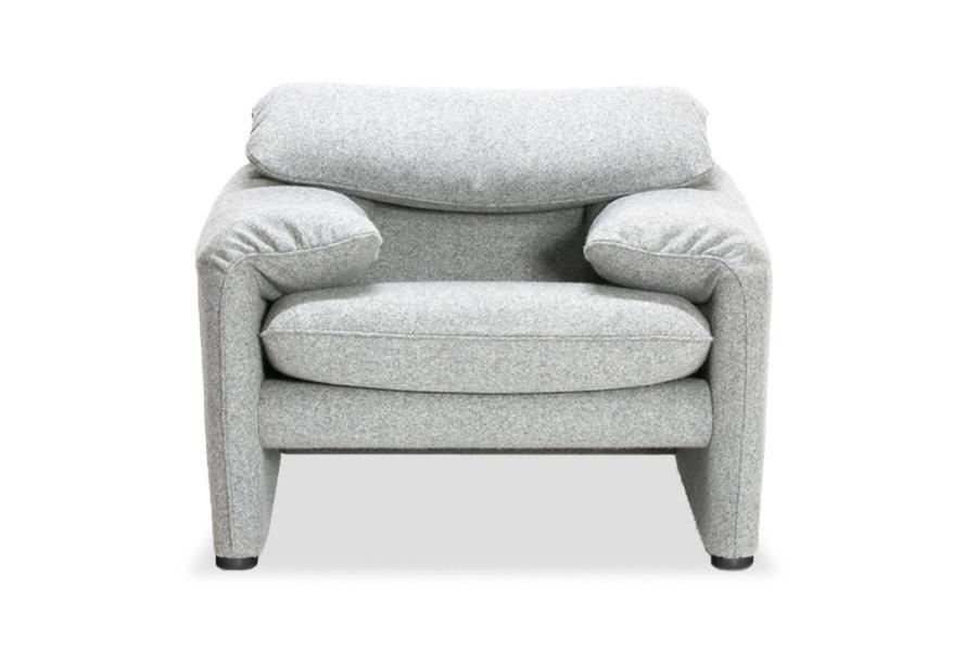E-comfort マラルンガ ソファ 1人掛け 限定カラーM1401 | 正面