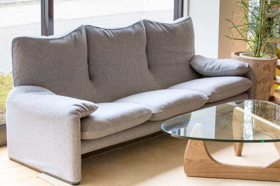 E-comfort マラルンガ ソファ 3人掛け 限定カラーM1401 | 設置例