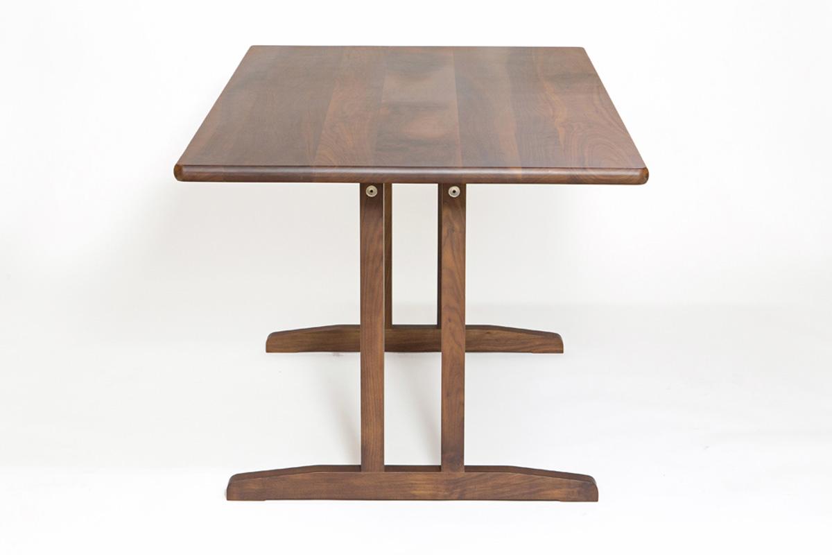 E-comfort C18 ダイニングテーブル 160cm ウォールナット | 横