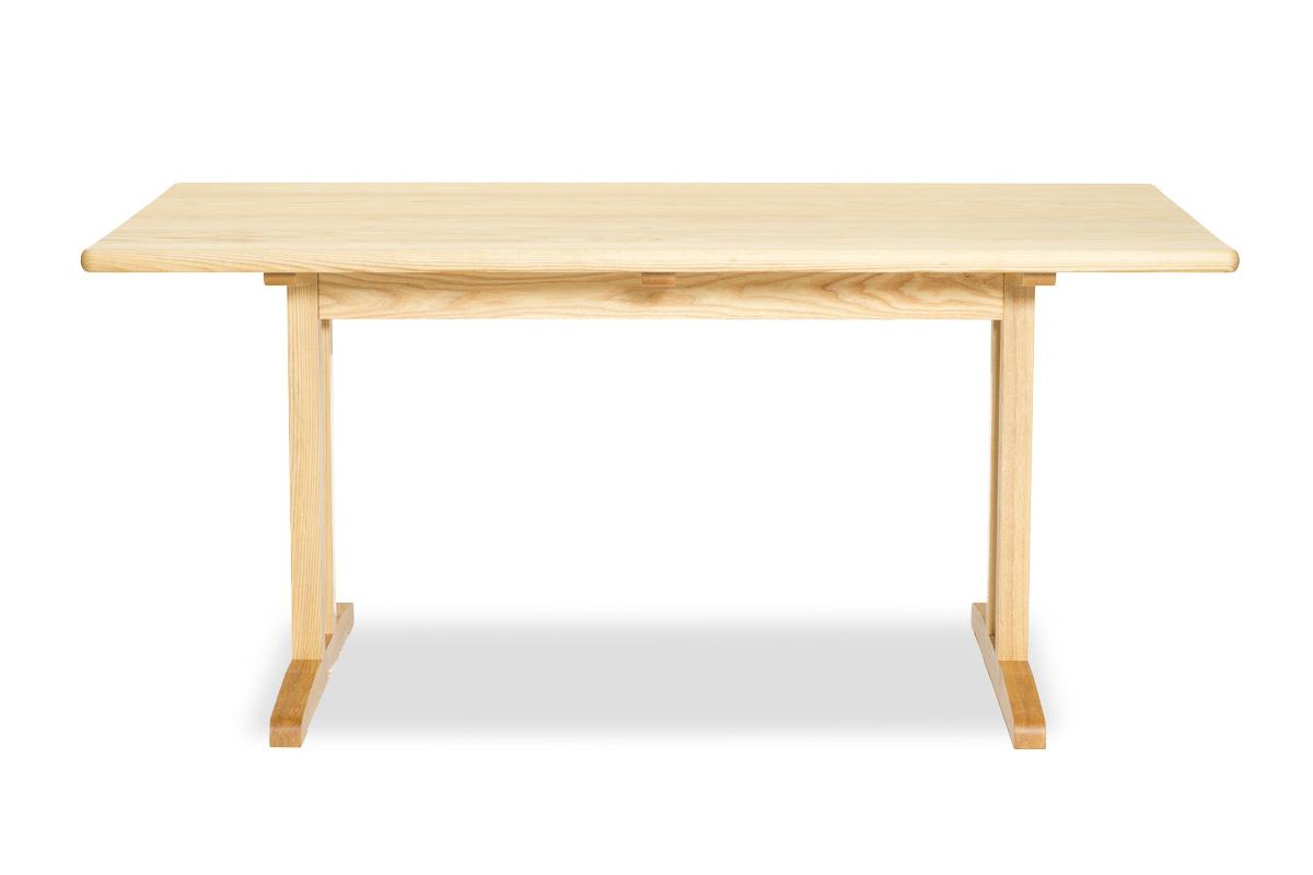 E-comfort C18 ダイニングテーブル 160cm<br>アッシュ