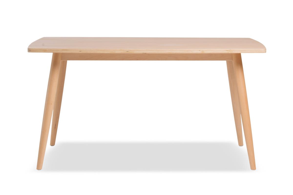 E-comfort ディッシュ ダイニングテーブル<br>ビーチ