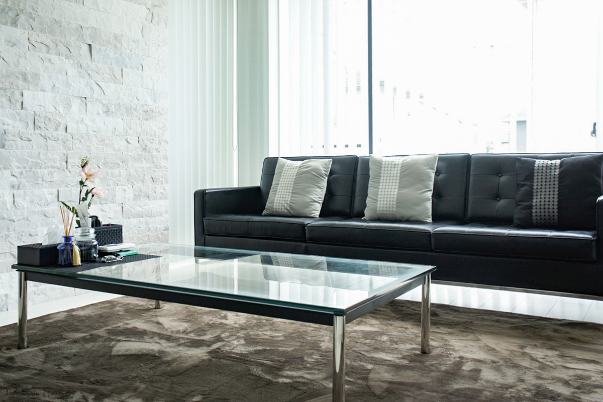E-comfort LC10 センターテーブル 120cm | 設置例 9173ソファ との組合わせ